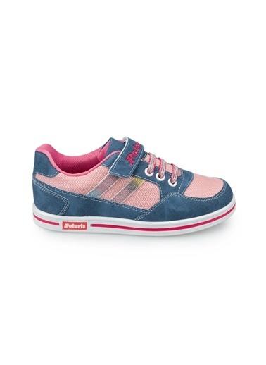 Polaris 91.509314.F Mavi Kız Çocuk Ayakkabı Mavi